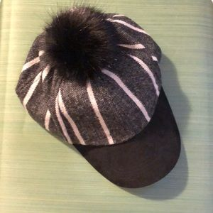 Vince Camuto hat with fur